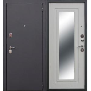 Входная металлическая дверь Феррони Царское зеркало Муар (белый ясень)
