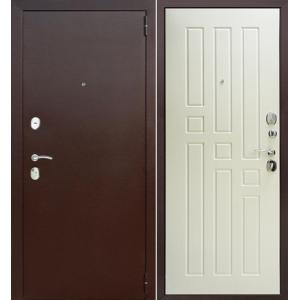 Входная металлическая дверь Феррони Гарда (белый ясень)