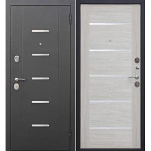 Входная металлическая дверь Феррони Гарда Муар Царга Лазер (лиственница)