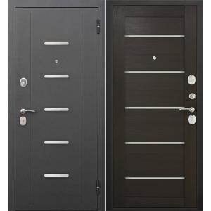 Входная металлическая дверь Феррони Гарда Муар Царга Лазер (венге)