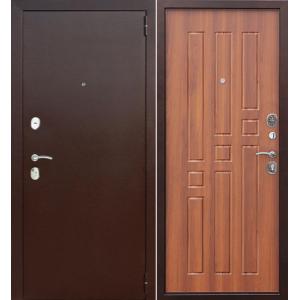 Входная металлическая дверь Феррони Гарда (рустикальный дуб)