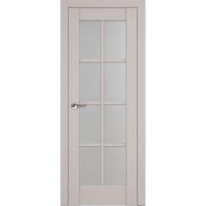 Межкомнатная дверь Profil Doors 101X (стекло матовое, пекан белый)