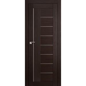 Межкомнатная дверь Profil Doors 17X (стекло матовое, венге мелинга)