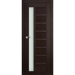 Межкомнатная дверь Profil Doors 37X (стекло матовое, венге мелинга)