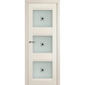 Межкомнатная дверь Profil Doors 4X (стекло узор, эш-вайт)