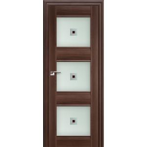 Межкомнатная дверь Profil Doors 4X (стекло узор, орех сиена)