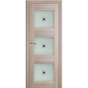 Межкомнатная дверь Profil Doors 4X (стекло узор, орех пекан)