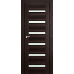 Межкомнатная дверь Profil Doors 57X (стекло матовое, венге мелинга)