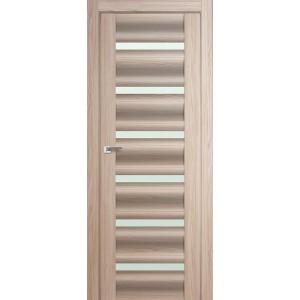 Межкомнатная дверь Profil Doors 57X (стекло матовое, капучино мелинга)