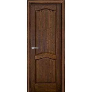 Межкомнатная дверь Vi Lario Лео ПГ (античный орех)