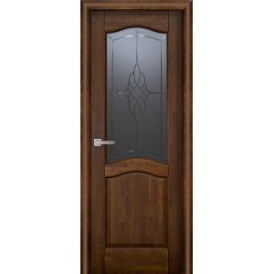 Межкомнатная дверь Vi Lario Лео ПО (античный орех)