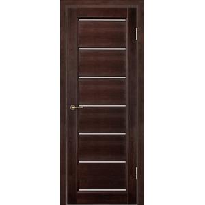 Межкомнатная дверь Vi Lario Премьер+ ЧО (венге)