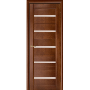 Межкомнатная дверь Vi Lario Вега 5 ЧО (темный орех)