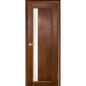 Межкомнатная дверь Vi Lario Вега 6 ЧО (темный орех)