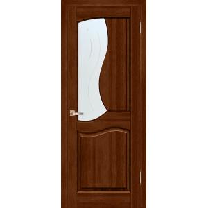 Межкомнатная дверь Vi Lario Верона ПО (бренди)